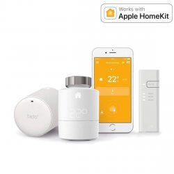 tado° Smartes Heizkörper-Thermostat Starter Set mit 2 Thermostaten + Bridge