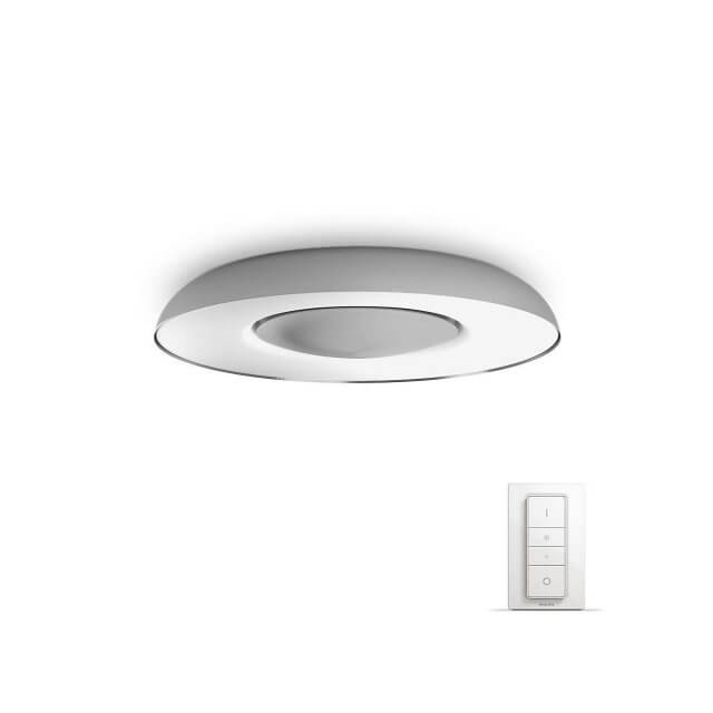 Philips Hue White Ambiance Still - LED-Deckenleuchte mit Dimmschalter