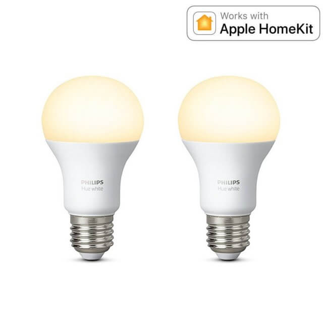 Philips Hue White E27 Doppelpack - LED-Lampe