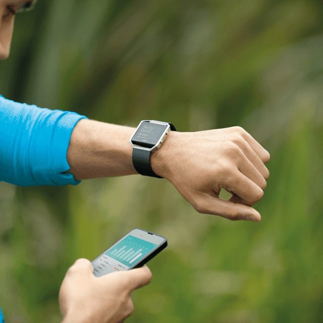 Fitbit Blaze - Fitness-Watch
