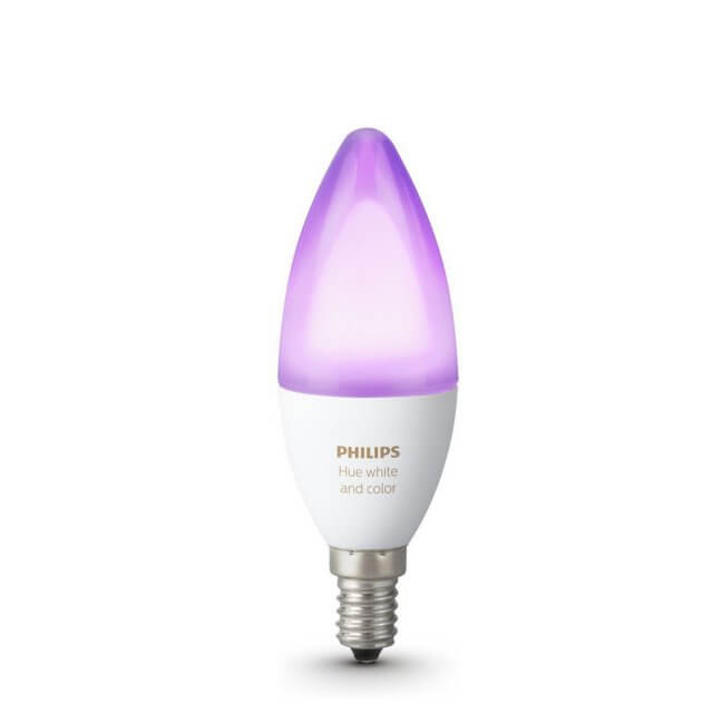 Philips Hue White and Color Ambiance E14 farbige LED-Lampe