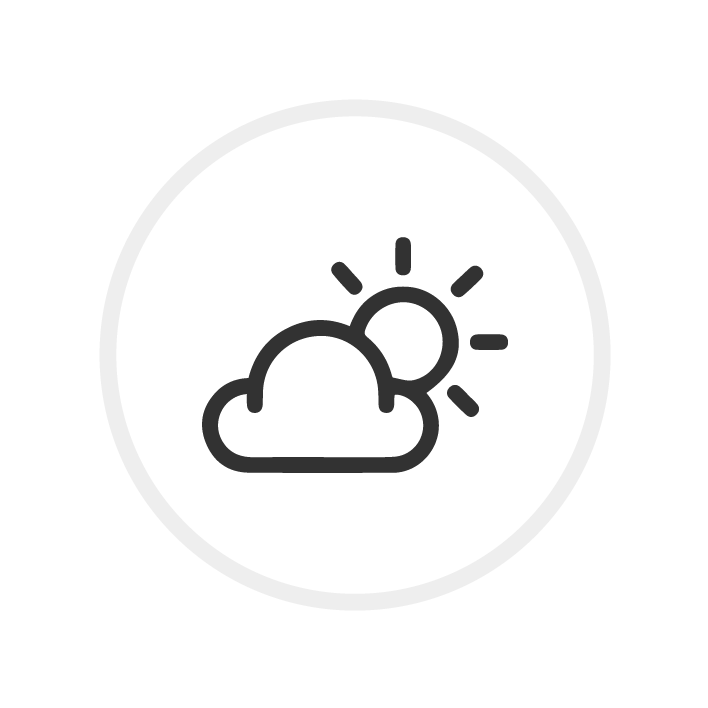 Icon Sonne hinter Wolke