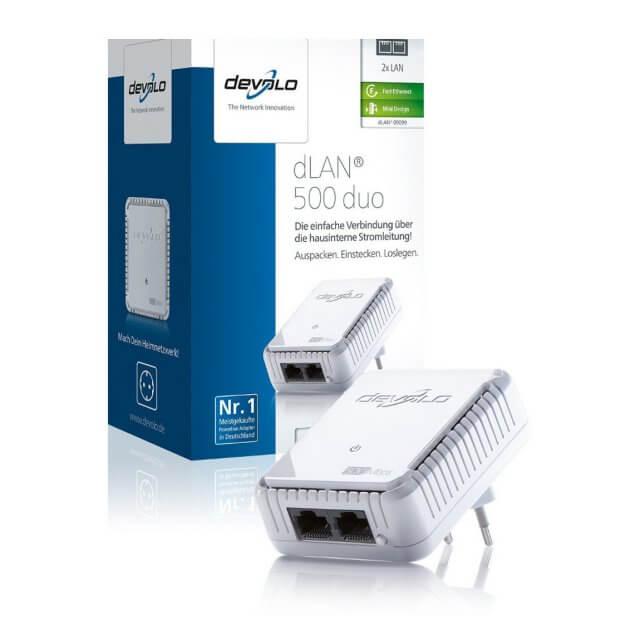 devolo dLAN 500 duo - Powerline Adapter