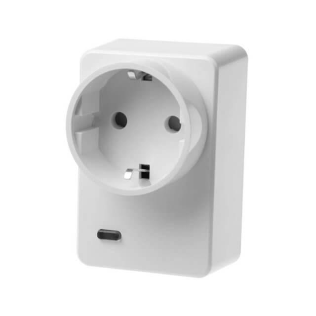 Lupusec Funksteckdose mit Stromzähler und ZigBee (XT2 Plus)