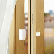 Eve Door & Window Sensor von innen am fenster