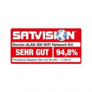 devolo dLAN 500 WiFi - Network Kit Powerline
