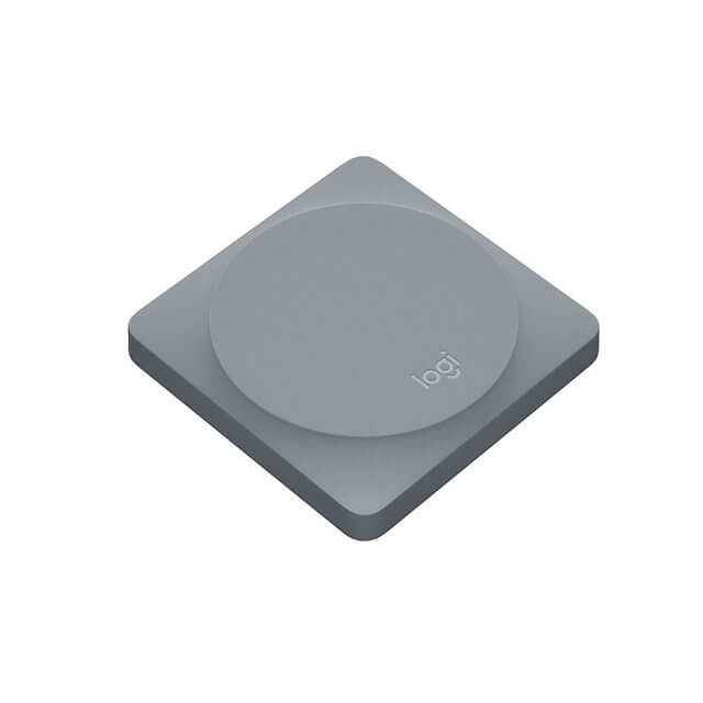 Logitech POP Home Switch - Smart Button - Alloy schräge Ansicht
