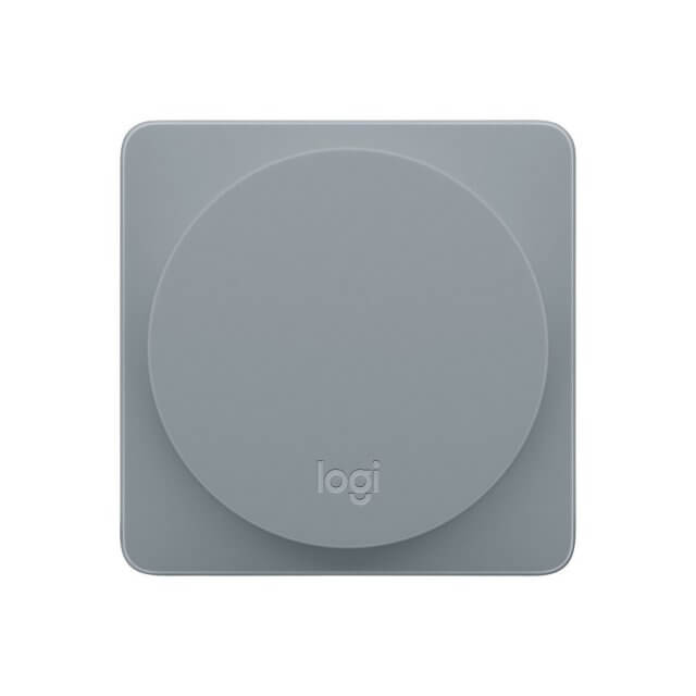 Logitech POP Home Switch - Smart Button - Alloy front Ansicht