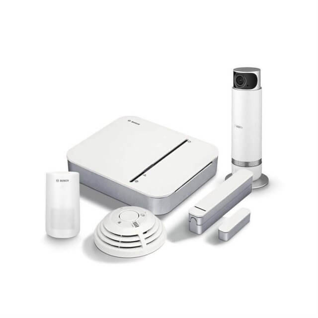Bosch Smart Home - Starter Set Sicherheit + 360° Innenkamera