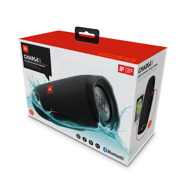 JBL Charge 3 Bluetooth-Lautsprecher