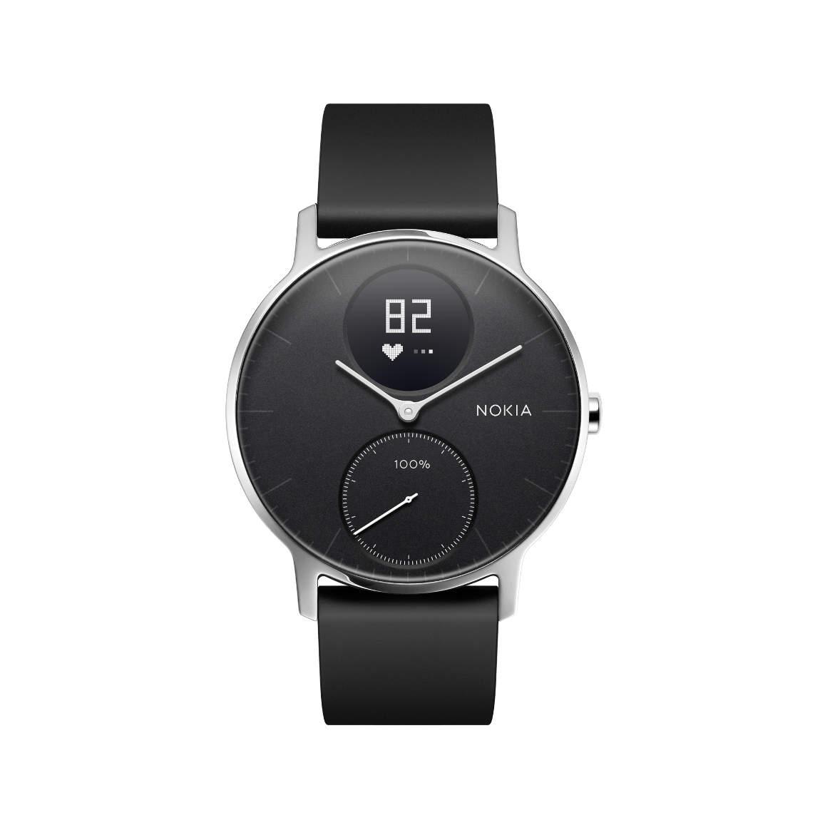 Nokia Activité Steel HR Smartwatch - 36 mm Black