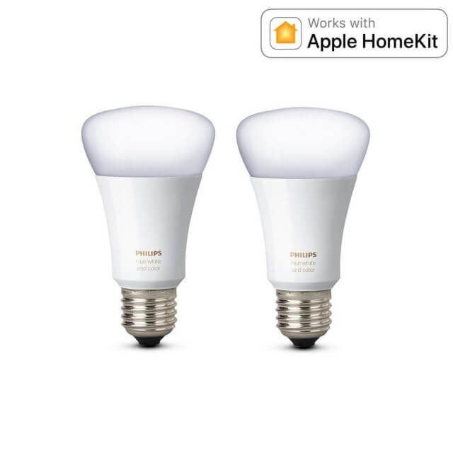 Philips Hue White and Color Ambiance E27 Doppelpack - LED-Lampen