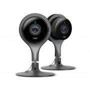 Google Nest Cam Indoor - Überwachungskamera, 2-er Pack