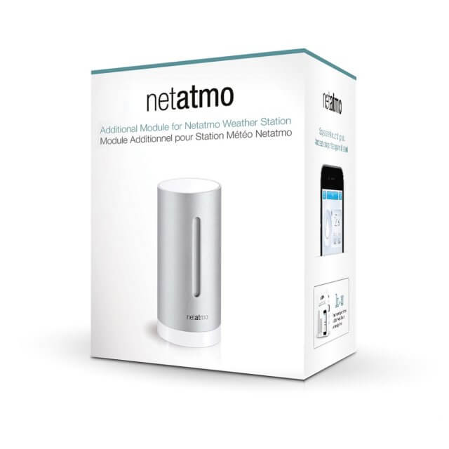 Netatmo Zusatz-Innenmodul für Wetterstation