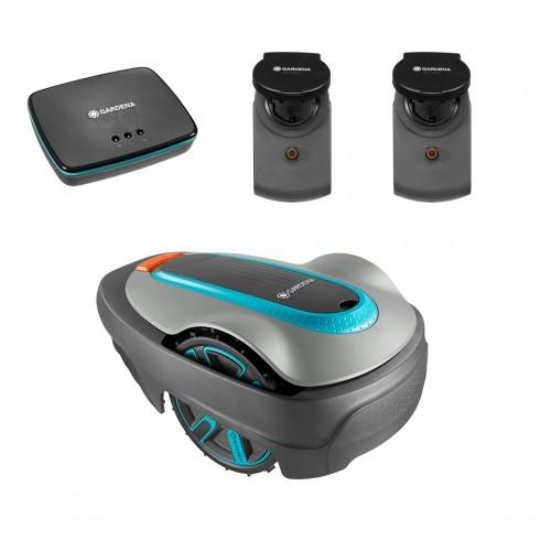 GARDENA smart SILENO city 250 inkl. Gateway + gratis smart Power 2er-Pack