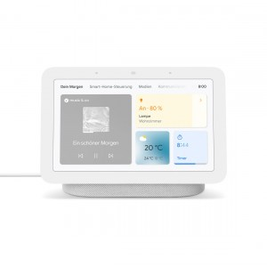Google Nest Hub (2. Generation) - Smart Display mit Sprachsteuerung