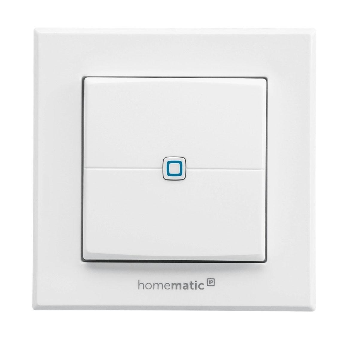 Homematic IP Wandtaster 2-fach
