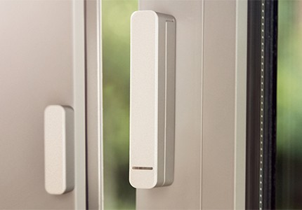 Smart Sensor an offenem Fenster