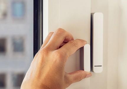 Smart Sensor an Fenster