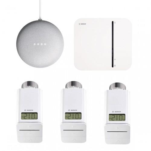 Bosch Smart Home - Starter Set Heizung + Google Nest Mini