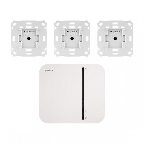Bosch Smart Home Controller + Rollladensteuerung Unterputz 3er-Set