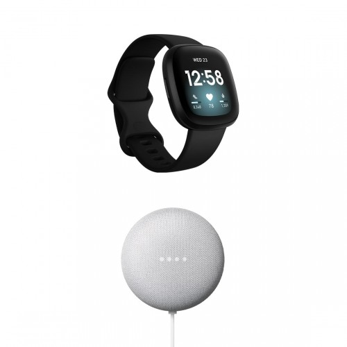 Fitbit Versa 3 + Google Nest Mini