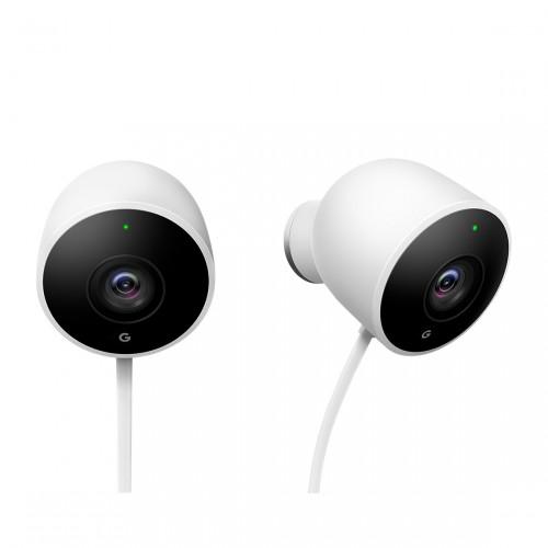 Google Nest Cam Outdoor 2er-Pack - Überwachungskamera