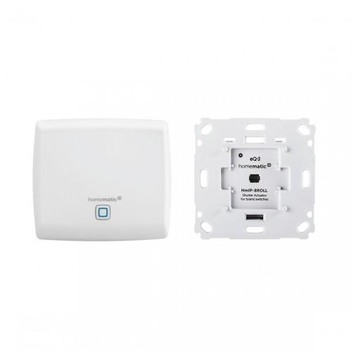 Homematic IP Access Point + Rollladenaktor für Markenschalter