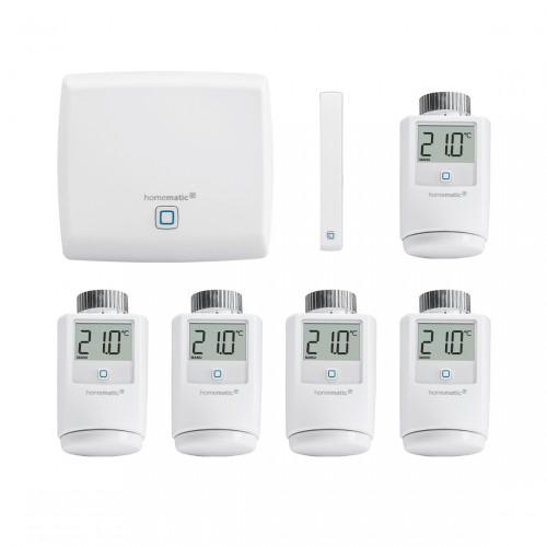 Homematic IP Starter Set Raumklima + 4 Thermostate