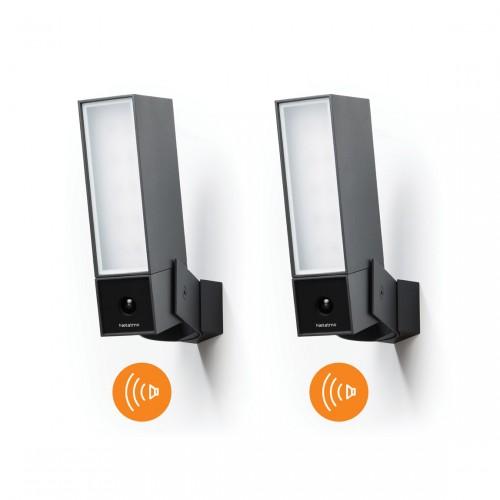 Netatmo Smarte Außenkamera mit Alarmsirene 2er-Set