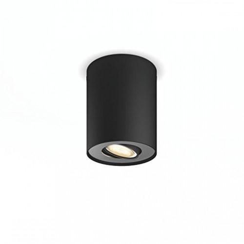 Philips Hue Pillar LED 1-er Spot 250lm Erweiterung in schwarz