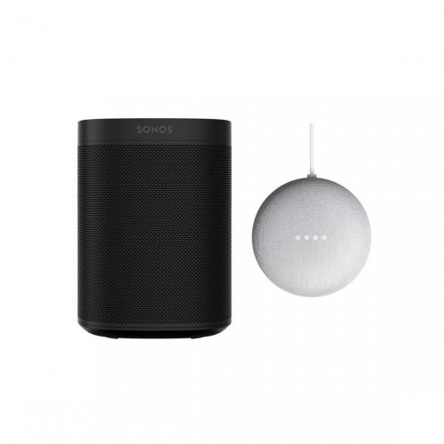 SONOS One und Google Nest Mini