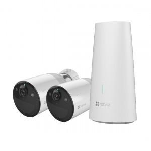 Ezviz BC1 B2 - Akku Outdoor Überwachungskamera Duo-Pack