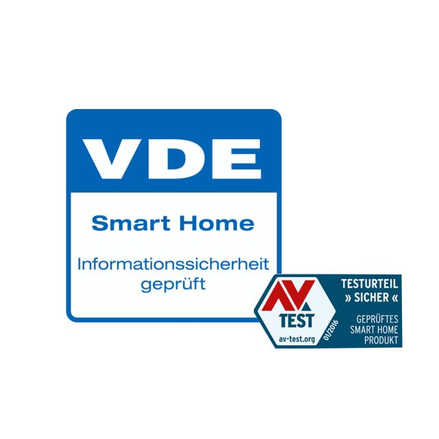 innogy SmartHome Unterputz VDE Smart Home Informationssicherheitssigel
