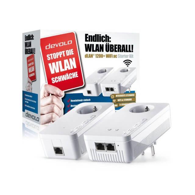 devolo dLAN 1200+ WiFi ac - Starter Kit Powerline