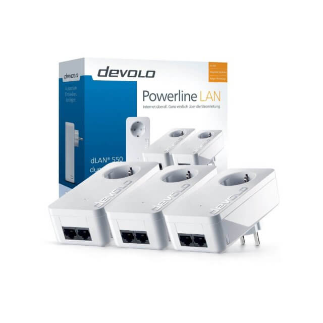devolo dLAN 550 duo+ - Network Kit Powerline