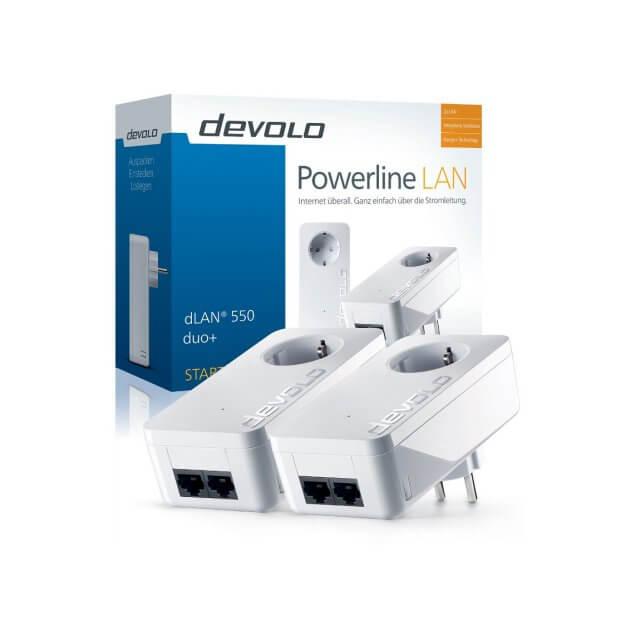 devolo dLAN 550 duo+ - Starter Kit Powerline