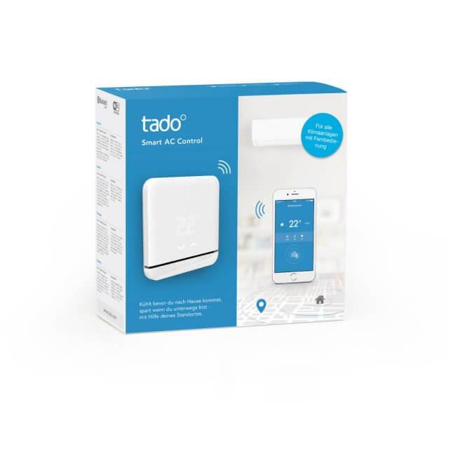 tado° Smart AC Control - smarte Klimasteuerung weiß Verpackung