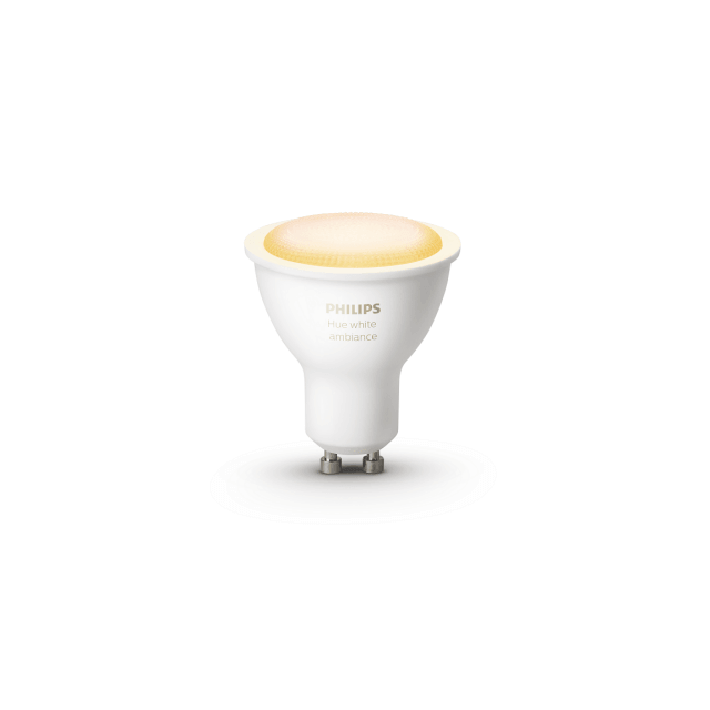 Philips Hue White Ambiance GU10 Doppelpack - LED-Lampen