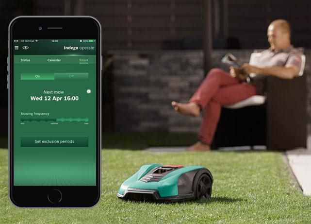 Bosch Power Tools App-gesteuert