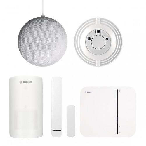 Bosch Smart Home - Starter Set Sicherheit + Google Nest Mini