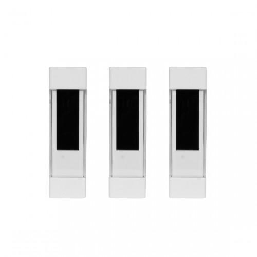 OPUS Tür- und Fensterkontakt 3er Pack front ansicht
