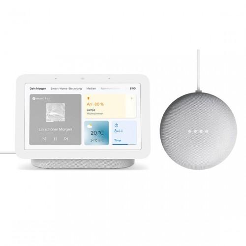 Google Nest Hub (2. Generation) + Google Nest Mini (2. Generation)