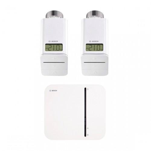 Bosch Smart Home Starter-Set Heizen mit zwei Thermostaten