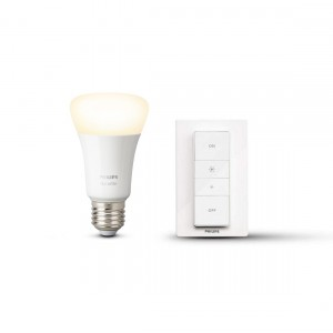 Philips Hue Wireless Dimming Kit E27 Dimmschalter + Lampe in weiß