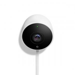 Google Nest Außenkamera in weiß