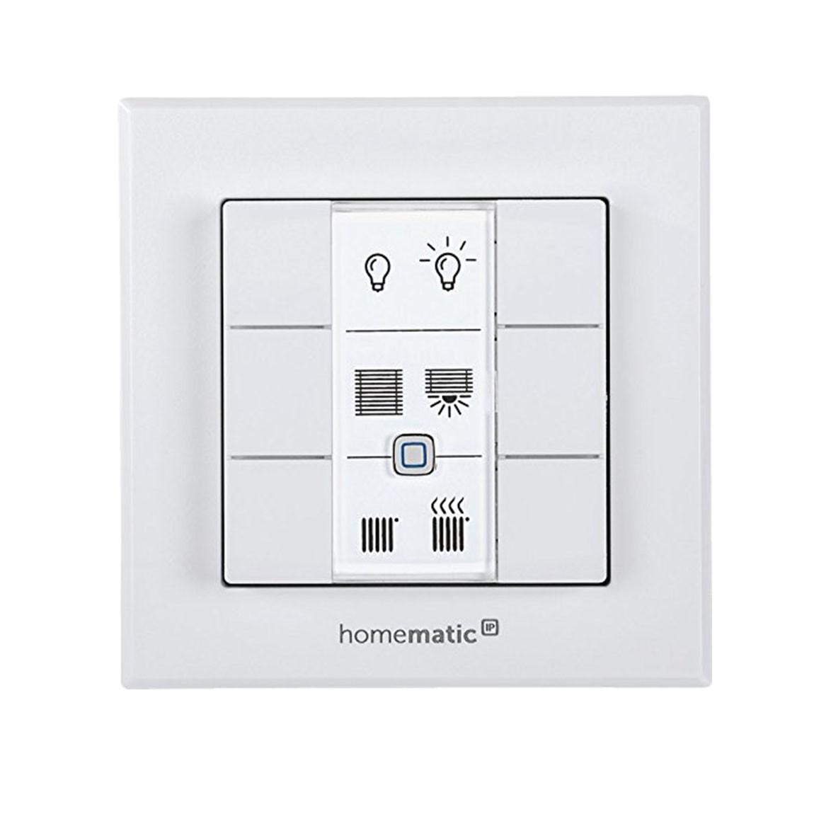 Homematic IP Wandtaster 6-fach - weiß