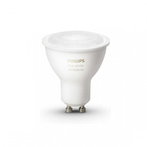 Philips Hue White - LED GU10 Spot Erweiterung - weiß