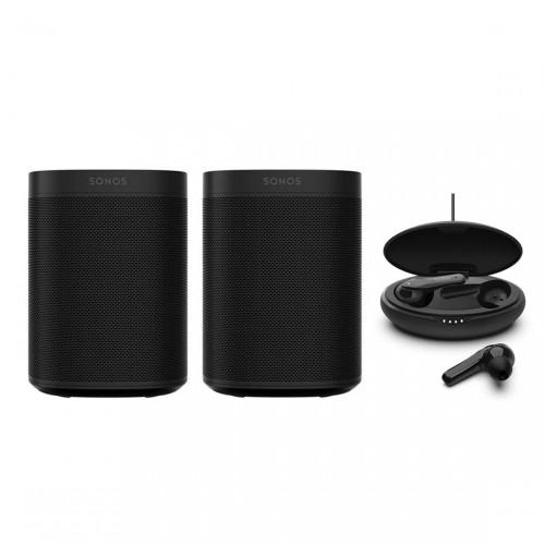 Sonos One Stereo Set + Belkin SOUNDFORM Move