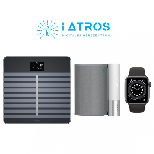 Withings BPM Connect + Withings Body Cardio + Apple Watch Series 6 + iAtros Service